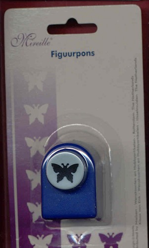 Mireille: Figuurpons small: Butterfly