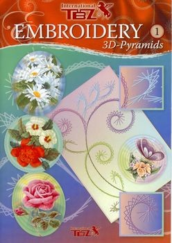TBZ: Embroiderry 3D Pyramids, borduurboek
