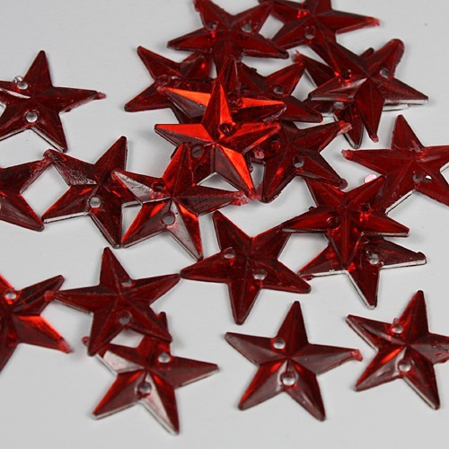 FI: Strass sterren small; Red