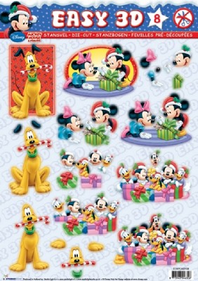 Easy 3D: Mickey Mouse & Friends
