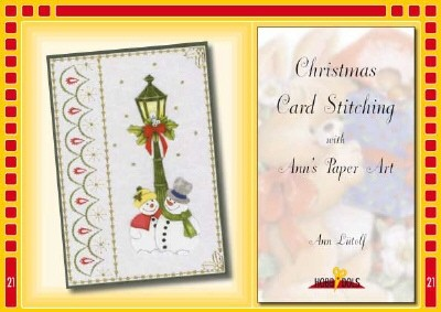 Hobbydols 21: CardStitching with Ann; Kerst