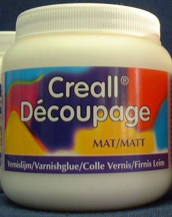 Creall: Decoupagelijm Mat 250 ml