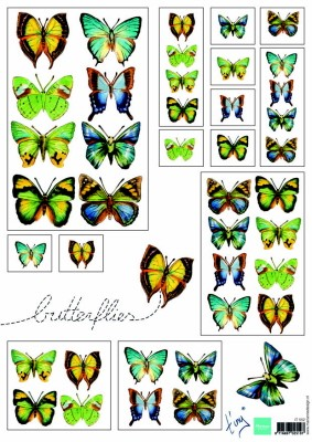 IT: Butterflies Green
