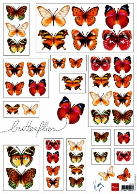 IT: Butterflies Red