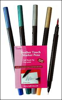 Crafts-Too: Feather Touch Marker Pens