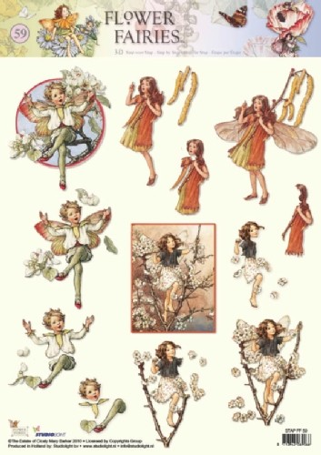 Flower Fairies knipvel