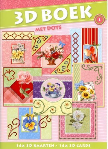 SL: Excellent 3D A4 book with dots 3