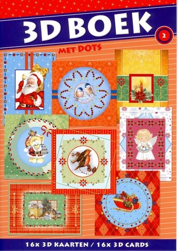 SL: Excellent 3D A4 book with dots 2 X-mas