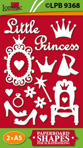 Lomiac: Paperboard shapes; Princess
