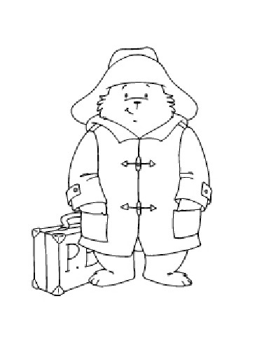 SL: Clear Stamp Paddington Bear