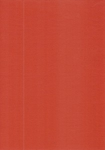 Colour Structure Paper: Crimson