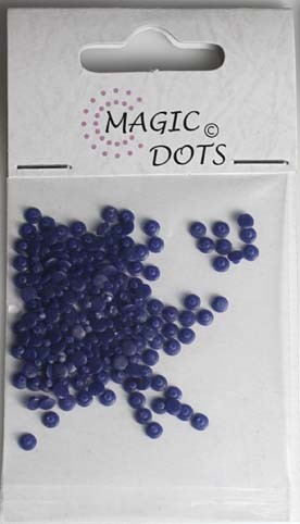 Magic Dots - donkerblauw