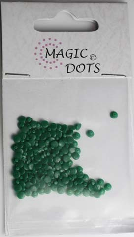 Magic Dots - kerstgroen