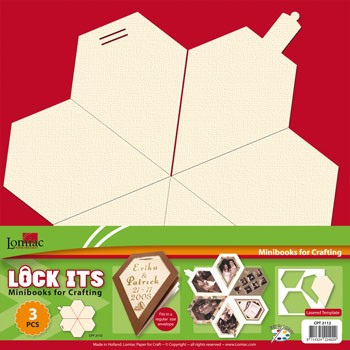 Lock Its: mini scrapbookje; Diamant