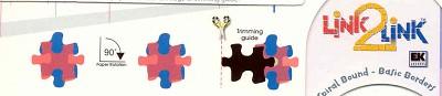 Link2linkpons: puzzle 2 blauw