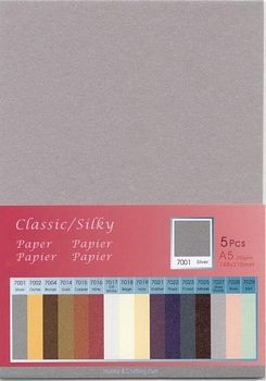 H&C: Classic-Silky Paper; Silver