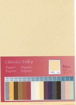 H&C: Classic-Silky Paper; Ivory