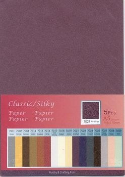 H&C: Classic-Silky Paper; Amethyst