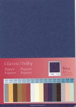 H&C: Classic-Silky Paper; Royal