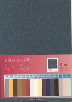 H&C: Classic-Silky Paper; Forest