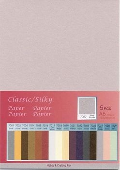 H&C: Classic-Silky Paper; Silver Shade