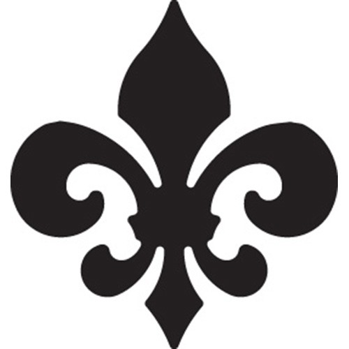 EK Success: Medium Punch; Fleur de Lis