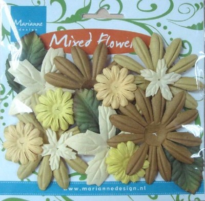 MD: Mixed Flowers; Green