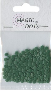 Magic Dots - Flower Xmas Green