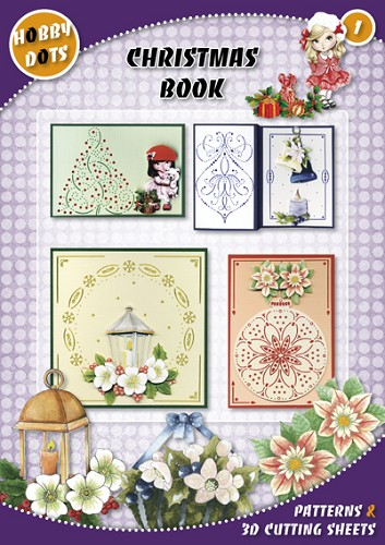 Hobbydots 1:  Christmas Book A4