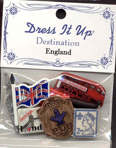 Creamotion: Dress It Up; Destination England