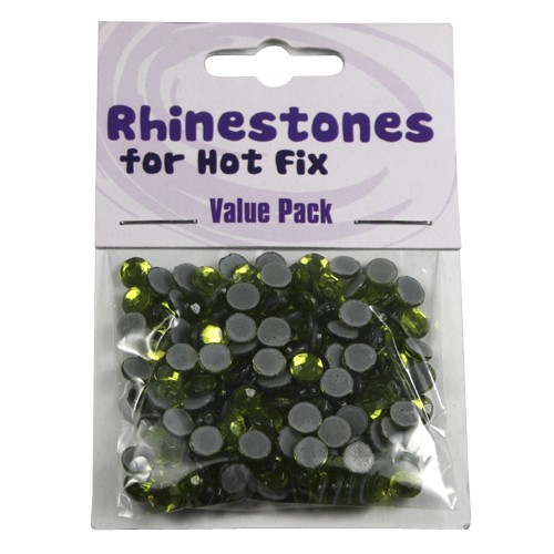 Rhinestones for Hot Fix - Olivine