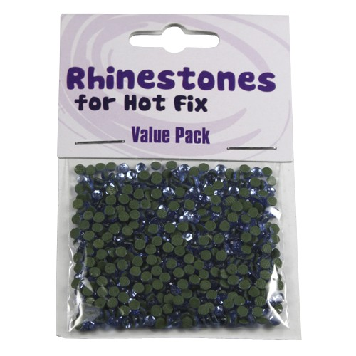 Rhinestones for Hot Fix - Light saphire