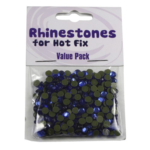 Rhinestones for Hot Fix - Saphire