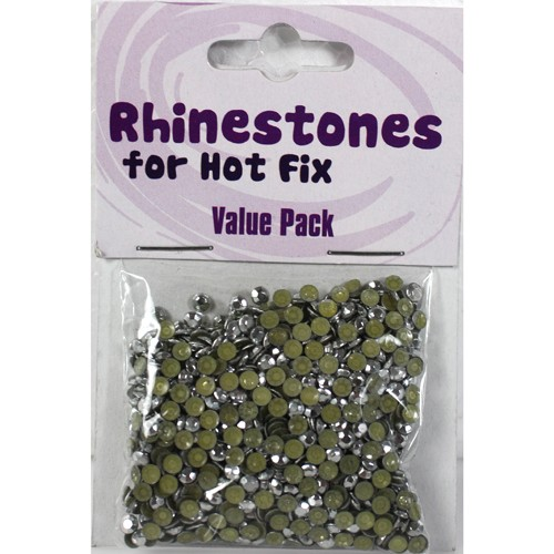 Rhinestones for Hot Fix - Silver
