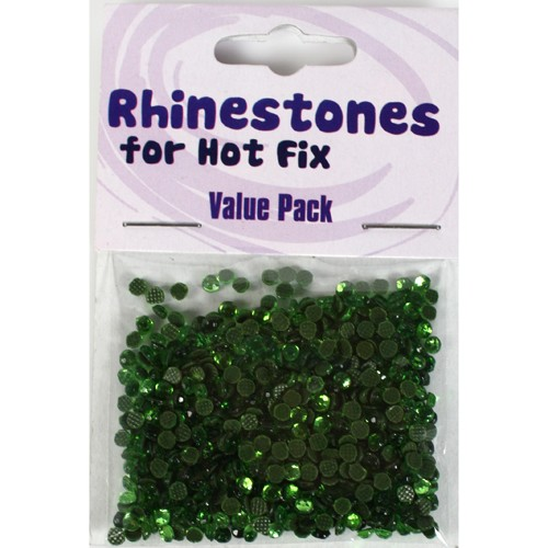 Rhinestones for Hot Fix - Peridot