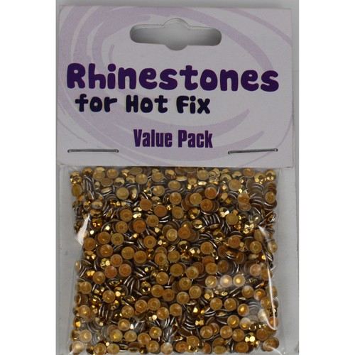 Rhinestones for Hot Fix - Gold