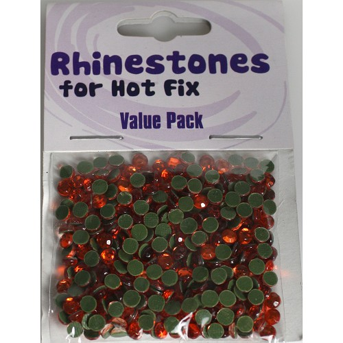 Rhinestones for Hot Fix - Orange