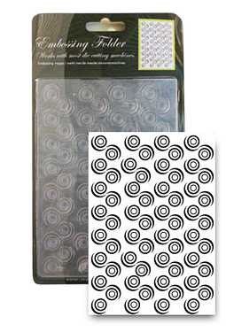 CCC: embossing mal; Circle Dots