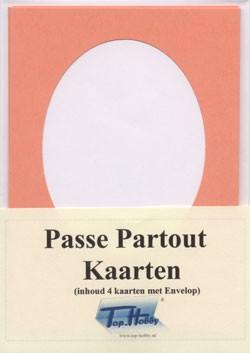 Passe Partout Kaarten.Top Hobby Passe Partout Kaart Ovaal