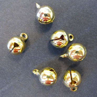 H&C: Belletjes 8 mm: goud