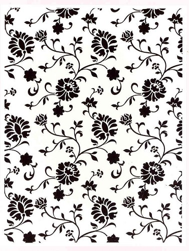 Craft Concepts: Embossing Folder; Cottage Floral
