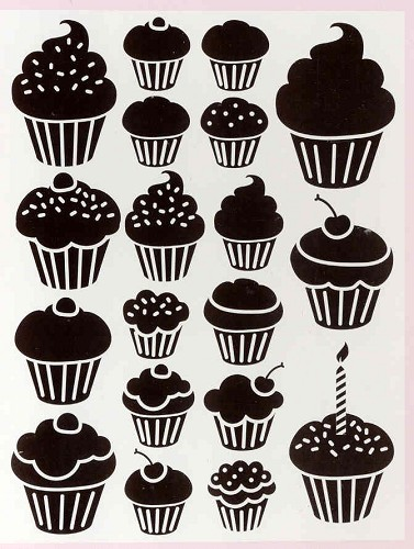 Craft Concepts: Embossing Folder; Cupcakes