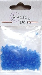 NS: Magic Dots Transparant Blue