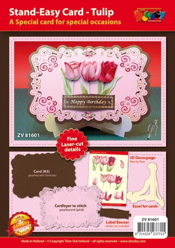 Stand-Easy Cards A5: Tulp