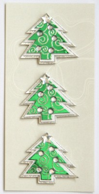 Pick Up: 3D sticker medium, kerstboom
