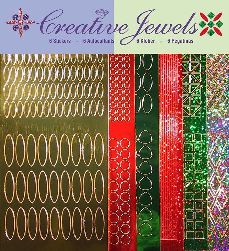 Jeje: Creative Jewels Stickerpakket; Kerst