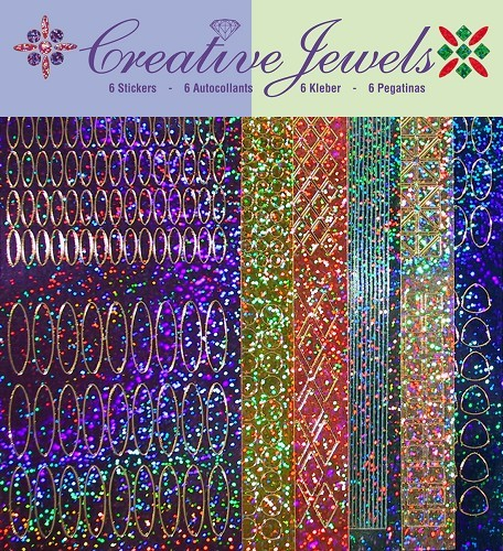 Jeje: Creative Jewels Stickerpakket; Diamant