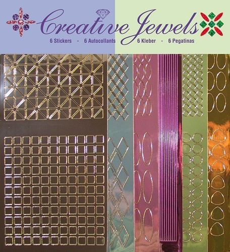 Jeje: Creative Jewels Stickerpakket; Mirror