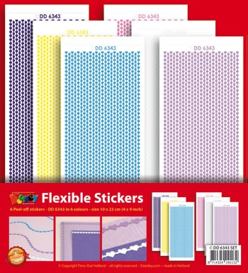 Doodey stickerset: Flexible Borders