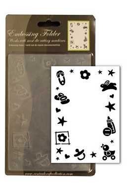 CCC: Embossing Folder; Baby